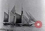 Image of 3-masted schooner sunk by U-boat Atlantic Ocean, 1916, second 3 stock footage video 65675040086