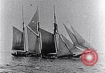 Image of 3-masted schooner sunk by U-boat Atlantic Ocean, 1916, second 7 stock footage video 65675040086