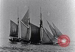 Image of 3-masted schooner sunk by U-boat Atlantic Ocean, 1916, second 9 stock footage video 65675040086