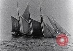 Image of 3-masted schooner sunk by U-boat Atlantic Ocean, 1916, second 11 stock footage video 65675040086