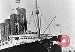 Image of Liner Lusitania leaving New York Atlantic Ocean, 1915, second 3 stock footage video 65675040087