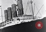 Image of Liner Lusitania leaving New York Atlantic Ocean, 1915, second 7 stock footage video 65675040087