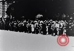 Image of civilians greet Austro-Hungarian officers Lemberg Ukraine, 1915, second 9 stock footage video 65675040091