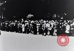 Image of civilians greet Austro-Hungarian officers Lemberg Ukraine, 1915, second 10 stock footage video 65675040091