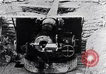 Image of French 155mm long gun Western Front, 1916, second 1 stock footage video 65675040092