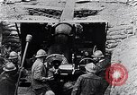 Image of French 155mm long gun Western Front, 1916, second 6 stock footage video 65675040092