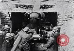 Image of French 155mm long gun Western Front, 1916, second 8 stock footage video 65675040092