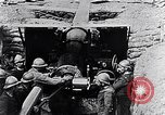 Image of French 155mm long gun Western Front, 1916, second 9 stock footage video 65675040092