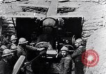 Image of French 155mm long gun Western Front, 1916, second 10 stock footage video 65675040092