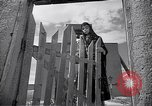 Image of adobe St. Thomas Church Abiquiu New Mexico USA, 1948, second 3 stock footage video 65675040097