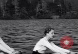 Image of Wellesley College girls crew team United States USA, 1934, second 8 stock footage video 65675040112