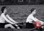Image of Wellesley College girls crew team United States USA, 1934, second 10 stock footage video 65675040112