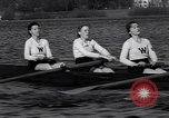 Image of Wellesley College girls crew team United States USA, 1934, second 12 stock footage video 65675040112