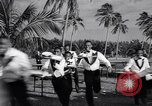 Image of waiters tray race Nassau Bahamas, 1934, second 10 stock footage video 65675040113