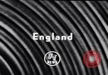 Image of British shipyard workers on strike United Kingdom, 1951, second 5 stock footage video 65675040116