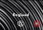 Image of British shipyard workers on strike United Kingdom, 1951, second 6 stock footage video 65675040116