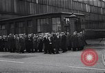 Image of British shipyard workers on strike United Kingdom, 1951, second 11 stock footage video 65675040116
