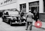Image of Prince Philip, Duke of Edinburgh, visiting the Decca Records productio United Kingdom, 1957, second 7 stock footage video 65675040118