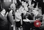 Image of Prince Philip, Duke of Edinburgh, visiting the Decca Records productio United Kingdom, 1957, second 9 stock footage video 65675040118