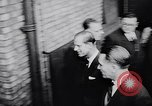 Image of Prince Philip, Duke of Edinburgh, visiting the Decca Records productio United Kingdom, 1957, second 10 stock footage video 65675040118
