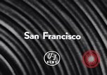 Image of Spanish Ambassador San Francisco California USA, 1957, second 5 stock footage video 65675040123