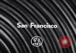 Image of Spanish Ambassador San Francisco California USA, 1957, second 6 stock footage video 65675040123