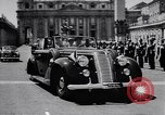 Image of French President Rene Coty Rome Italy, 1957, second 10 stock footage video 65675040124