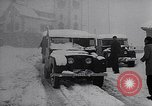 Image of snow capped vehicles Spain, 1957, second 4 stock footage video 65675040125