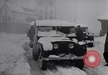 Image of snow capped vehicles Spain, 1957, second 5 stock footage video 65675040125
