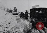 Image of snow capped vehicles Spain, 1957, second 7 stock footage video 65675040125