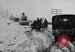 Image of snow capped vehicles Spain, 1957, second 8 stock footage video 65675040125