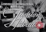 Image of fashion parade New York United States USA, 1957, second 3 stock footage video 65675040127