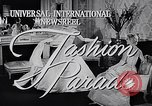 Image of fashion parade New York United States USA, 1957, second 5 stock footage video 65675040127