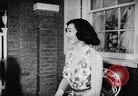Image of fashion parade New York United States USA, 1957, second 12 stock footage video 65675040127