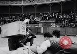 Image of Basque country stone lifting competition Spain., 1957, second 6 stock footage video 65675040128