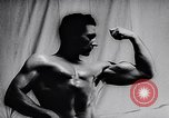 Image of Mr Ontario 1957 body building contest Toronto Ontario Canada, 1957, second 12 stock footage video 65675040129