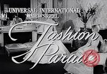 Image of fashion parade New York United States USA, 1957, second 3 stock footage video 65675040134