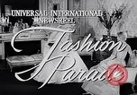 Image of fashion parade New York United States USA, 1957, second 4 stock footage video 65675040134