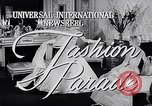 Image of fashion parade New York United States USA, 1957, second 5 stock footage video 65675040134