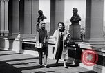 Image of fashion parade New York United States USA, 1957, second 7 stock footage video 65675040134