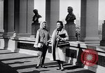 Image of fashion parade New York United States USA, 1957, second 8 stock footage video 65675040134