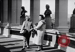 Image of fashion parade New York United States USA, 1957, second 9 stock footage video 65675040134