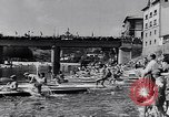 Image of Kayak Race in Sella River Spain, 1957, second 6 stock footage video 65675040135