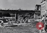Image of Kayak Race in Sella River Spain, 1957, second 7 stock footage video 65675040135