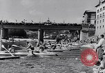 Image of Kayak Race in Sella River Spain, 1957, second 8 stock footage video 65675040135
