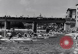 Image of Kayak Race in Sella River Spain, 1957, second 9 stock footage video 65675040135