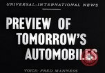 Image of automobile show New York United States USA, 1953, second 3 stock footage video 65675040142
