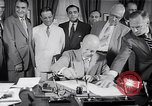 Image of President Eisenhower Baltimore Maryland USA, 1953, second 10 stock footage video 65675040145