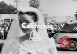 Image of Hollywood actress Ann Blyth marries James McNulty California United States, 1953, second 1 stock footage video 65675040147