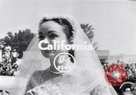 Image of Hollywood actress Ann Blyth marries James McNulty California United States, 1953, second 2 stock footage video 65675040147